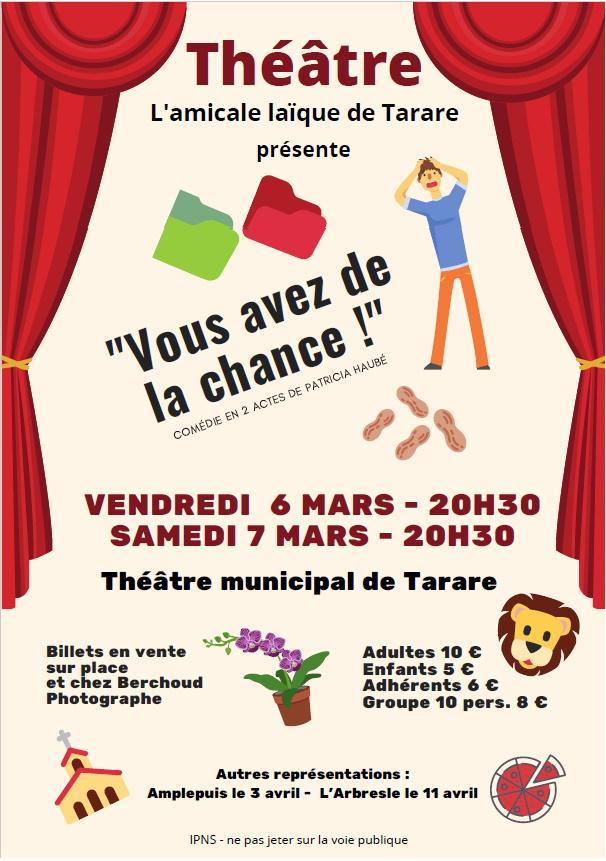 Affiche theatre 2021